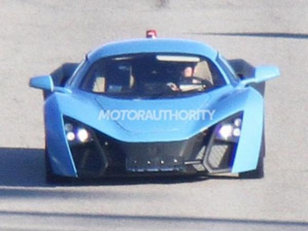 Marussia вывела на тесты обновленный спорткар B2